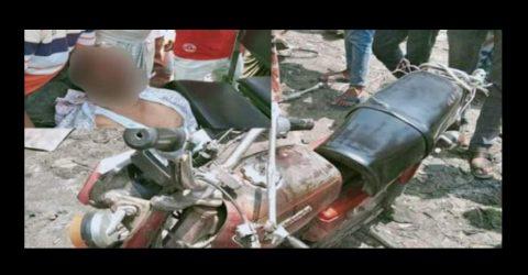 চাঁপাইনবাবগঞ্জে সড়ক দুর্ঘটনায় মোটরসাইকেল আরোহী নিহত