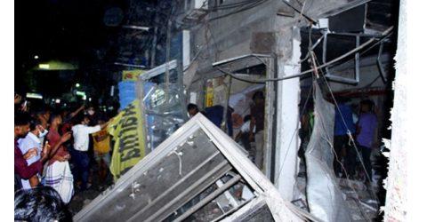 ঢাকার মগবাজারে হঠাৎ বিষ্ফোরন, নিহত ৬ আহত শতাধিক