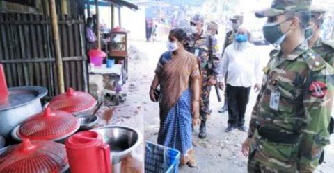 চাঁপাইনবাবগঞ্জে ৮ম দিনে বিধিনিষেধের ১১২ মামলা জরিমানা ৬৫৫০০ টাকা