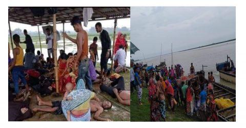 চাঁপাইনবাবগঞ্জে পদ্মা নদীতে বজ্রপাতে বিয়ের বর যাত্রীসহ ১৬ জন নিহত