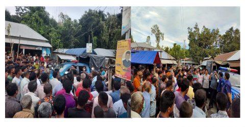 শাজাহানপুরে থানা পুলিশের আয়োজনে জনসচেতনামূলক সভা অনুষ্ঠিত