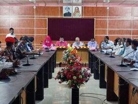 ডিমলায় আইন-শৃংখলা কমিটির মাসিক সভা অনুষ্ঠিত